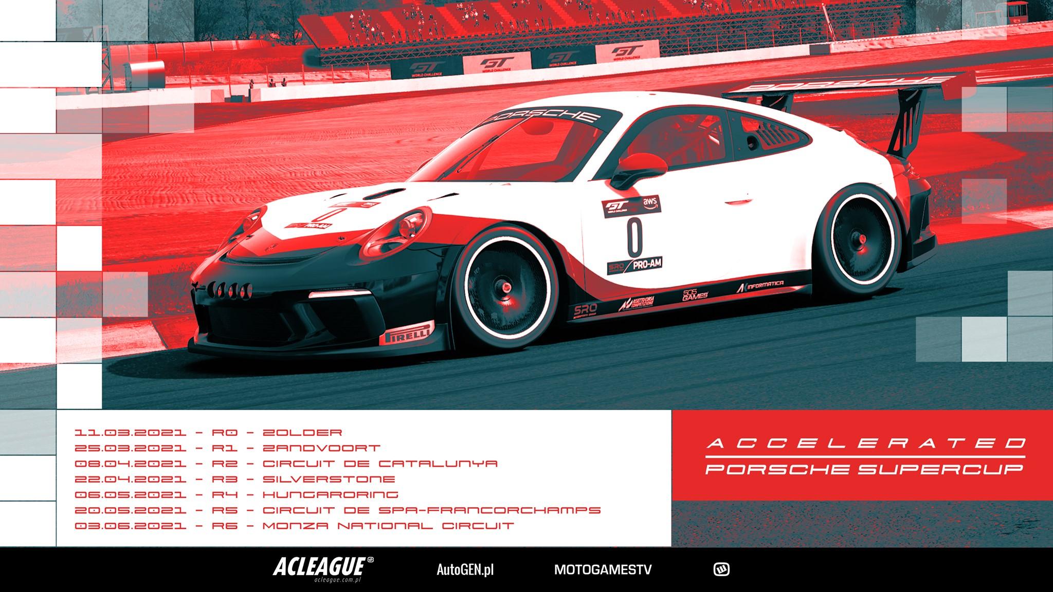 ACCelerated Porsche SuperCup